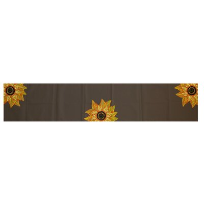 El Girasol Feliz Floral Print Table Runner by e by design