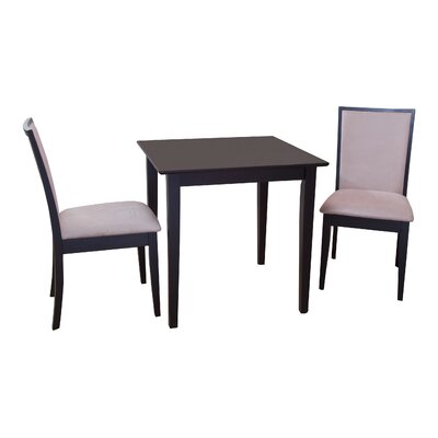 Quebec 3 Piece Dining Set by TMS