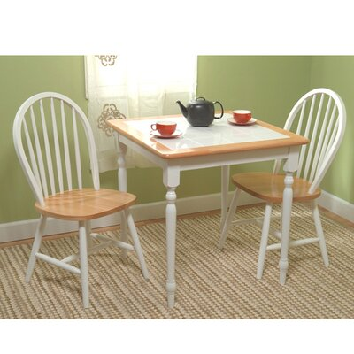 Classic 3 Piece Dining Set by TMS