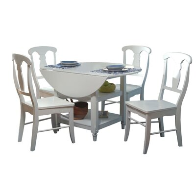 Cottage 5 Piece Dining Set by TMS