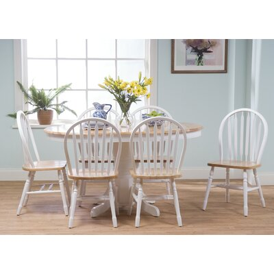 Farmhouse 7 Piece Dining Set by TMS