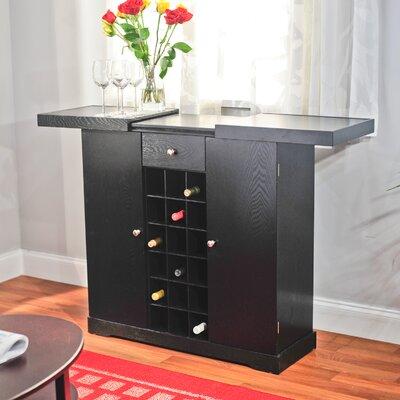 Bar & 18 Bottle Wine Storage by TMS
