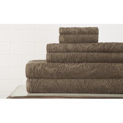 Casablanca Jacquard 6 Piece Towel Set by Amrapur