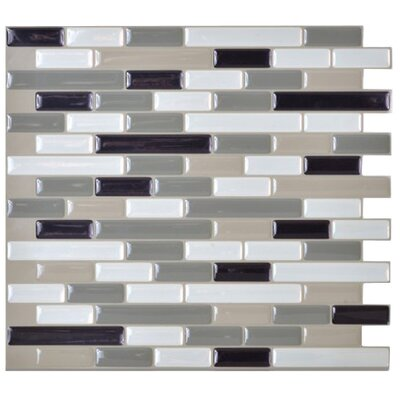 "Mosaïk 10.25"" x 9.13"" Mosaic Tile in Muretto Blues Product Photo"