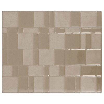 "Mosaik 11.6"" x 9.7"" Mosaic Tile in Beige Product Photo"