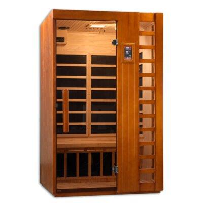 Golden Designs Puretech Low EMF 2 Person IR Carbon FAR Infrared Sauna
