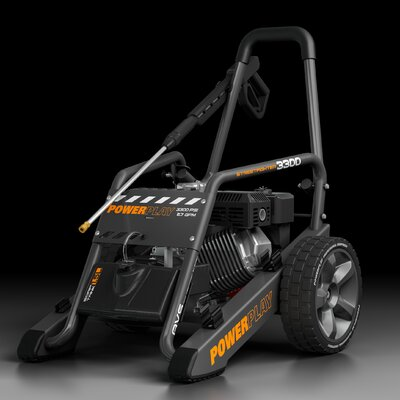 Streetfighter 3300 2.7GPM Quick Disconnect Power Pressure Washer by Powerplay