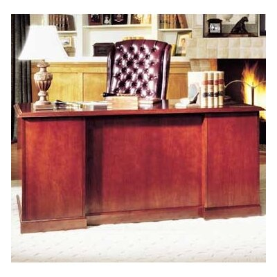 High Point Furniture Legacy Single Pedestal Veneer Executive Desk