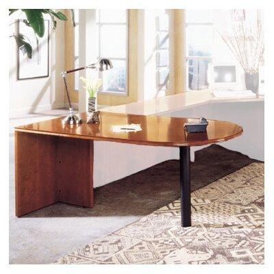 """High Point Furniture Forte 29"""" H x 72"""" W Peninsula Desk"""