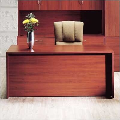 High Point Furniture Hyperwork Executive Desk with Single Pedestal