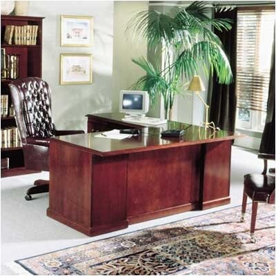 High Point Furniture Legacy L-Shaped Executive Desk