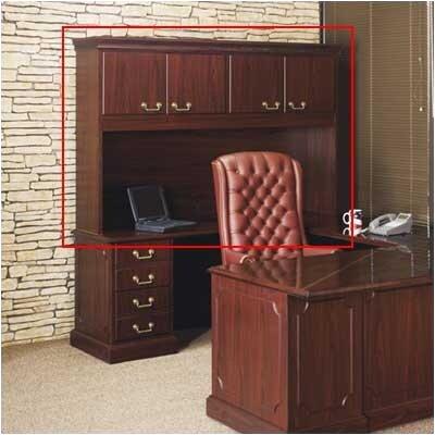 High Point Furniture Bedford 3-Piece Standard Desk Office Suite
