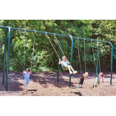 4-Place Arched Swing Set Product Photo