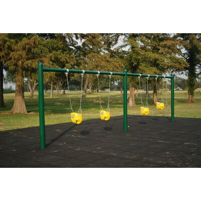 Single-Post Swing Set Product Photo