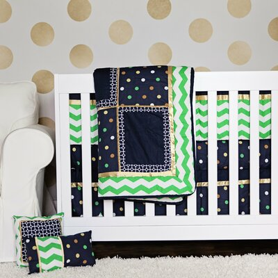 10 Piece Crib Bedding Set by DK Leigh