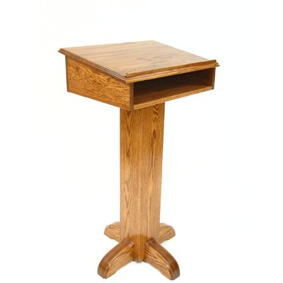 Executive Wood Products Deluxe Pedestal Speaker Stand