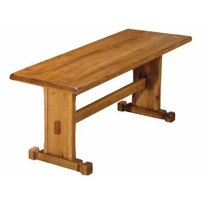 Just Cabinets Sedona Wood Trestle Kitchen Bench Reviews