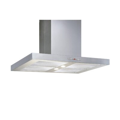 "48"" 600 CFM Island Range Hood in Stainless Steel Product Photo"