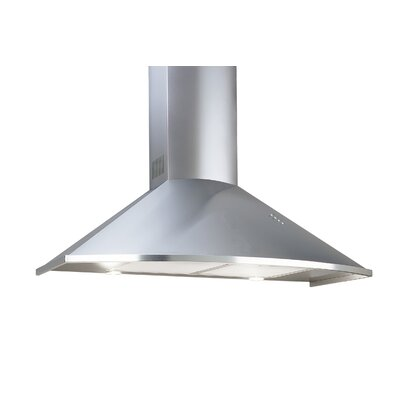"""30"""" 600 CFM Wall Mount Range Hood in Stainless Steel Product Photo"""
