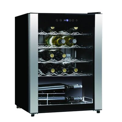 Midea 23 Bottle Single Zone Freestanding Wine Refrigerator by Equator