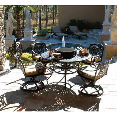 Maravilla 5 Piece Fire Pit Seating Group by Art Frame Direct