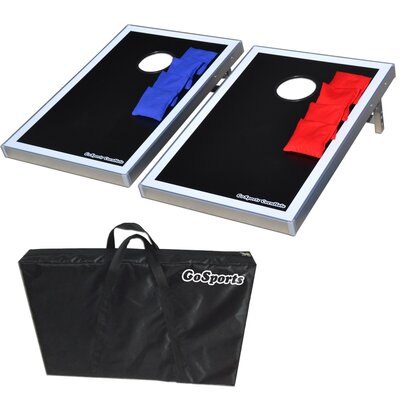 GoSports CornHole Bean Bag Toss Game Set