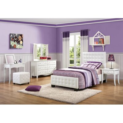 woodhaven hill sparkle panel customizable bedroom set