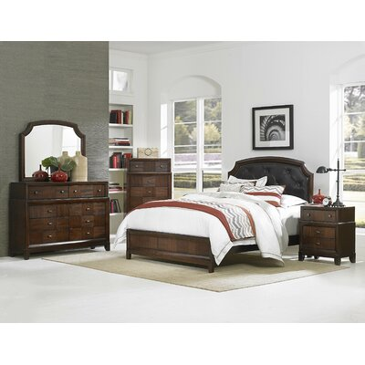 Carrie Ann Panel Bed by Woodhaven Hill