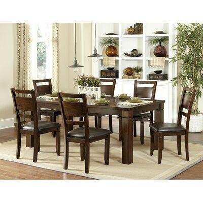 Woodbridge Home Designs Finnian 7 Piece Dining Set Reviews Wayfair