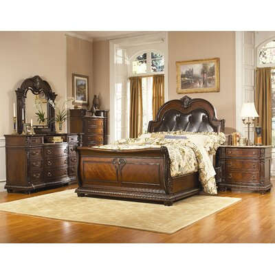 Woodhaven Hill Palace Panel Customizable Bedroom Set