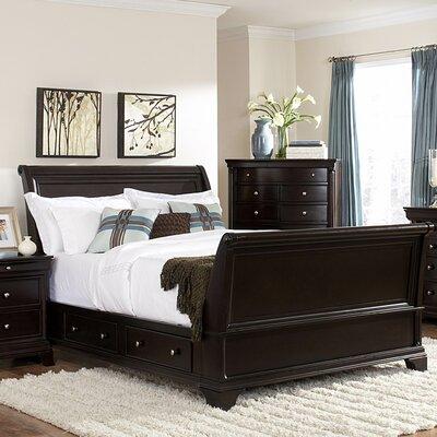 Woodbridge Home Designs Inglewood Sleigh Bed Reviews Wayfair