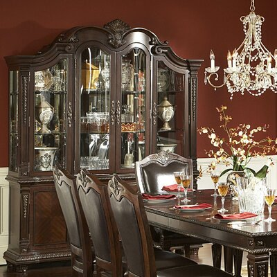 Woodhaven Hill Palace China Cabinet