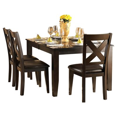 crown point dining table by woodbridge home designs