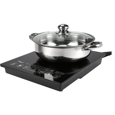 "11.73"" Electric Induction Cooktop with 1 Burner Product Photo"
