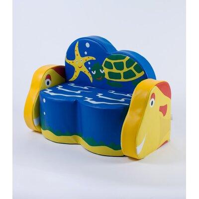 Ocean Life Kids Sofa by Kalokids