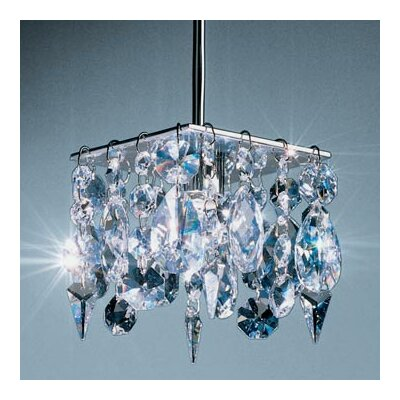Cristello 1 Light Mini Pendant with Canopy Product Photo