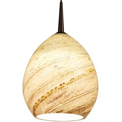 Vibe LED MP Pendant with Sea Shell Glass Product Photo