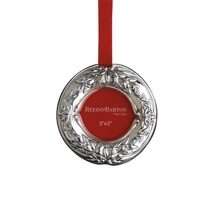 Francis I Wreath Picture Frame Ornament by Reed & Barton