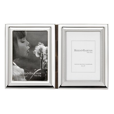 Capri Double Picture Frame by Reed & Barton