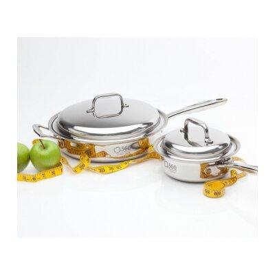 360 Cookware 4 Piece Cookware Set