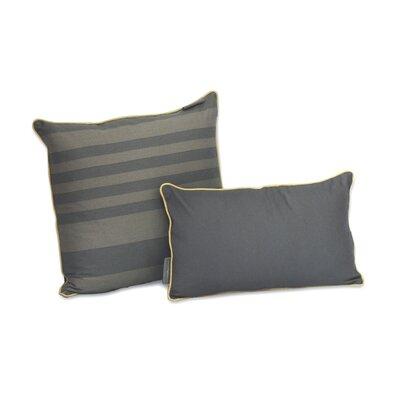 Tonal Stripe Decorative Cotton Pillow by EZ Living Home