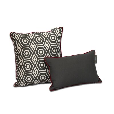 Honeycomb Decorative Cotton Throw Pillow by EZ Living Home