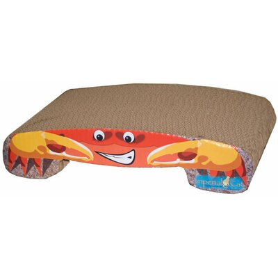 Imperial Cat Scratch n' Shapes Crab Recycled Paper Cat Scratching Board