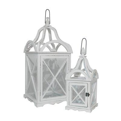Three Hands 2 Piece Attractive Lantern Set