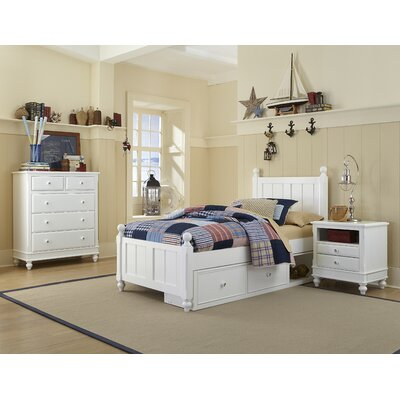Ne kids lake house storage panel customizable bedroom set reviews wayfair Lake home bedroom furniture