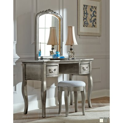 NE Kids Kensington Vanity Set with Mirror with Mirror
