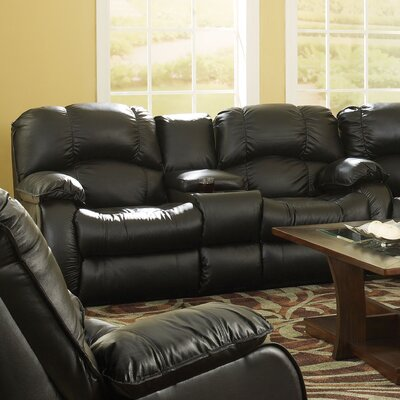 Continental'' Leather Reclining Sofa by Southern Motion