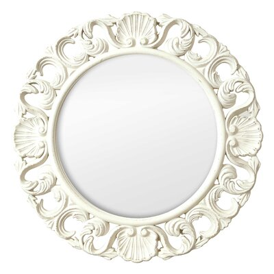 Casa Vintage Ornate Circular Mirror by Selections by Chaumont
