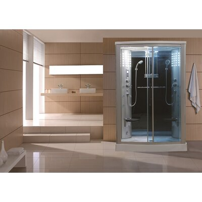 Sliding Door Steam Shower Enclosure Unit Product Photo