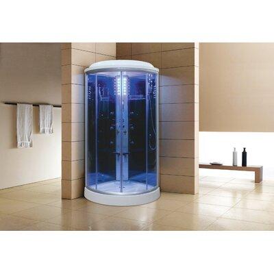 Sliding Door Steam Shower Enclosure Unit Product Photo